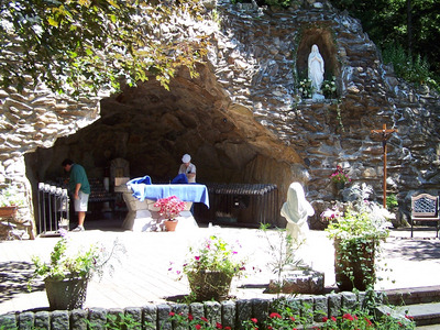 Our Lady of Lourdes Shrine, Litchfield, Connecticut